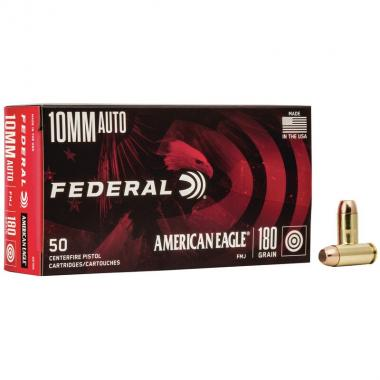 Federal american eagle fmj 180 grs cal. 10 mm